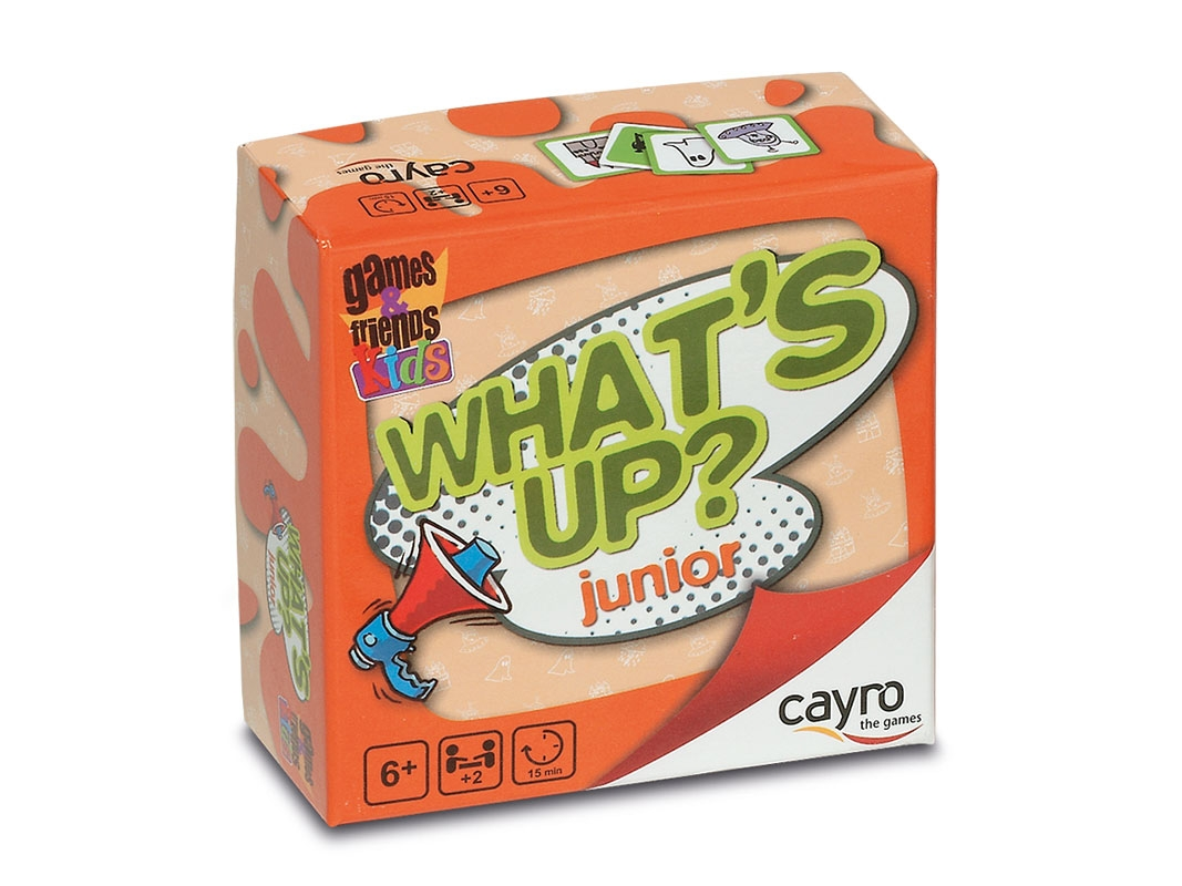 WHAT´S UP JUNIOR?. CAYRO