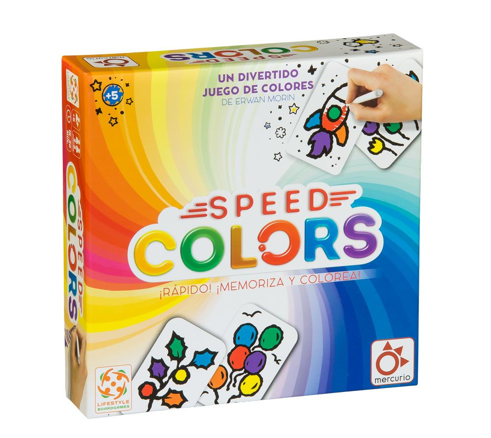 SPEED COLORS. MERCURIO