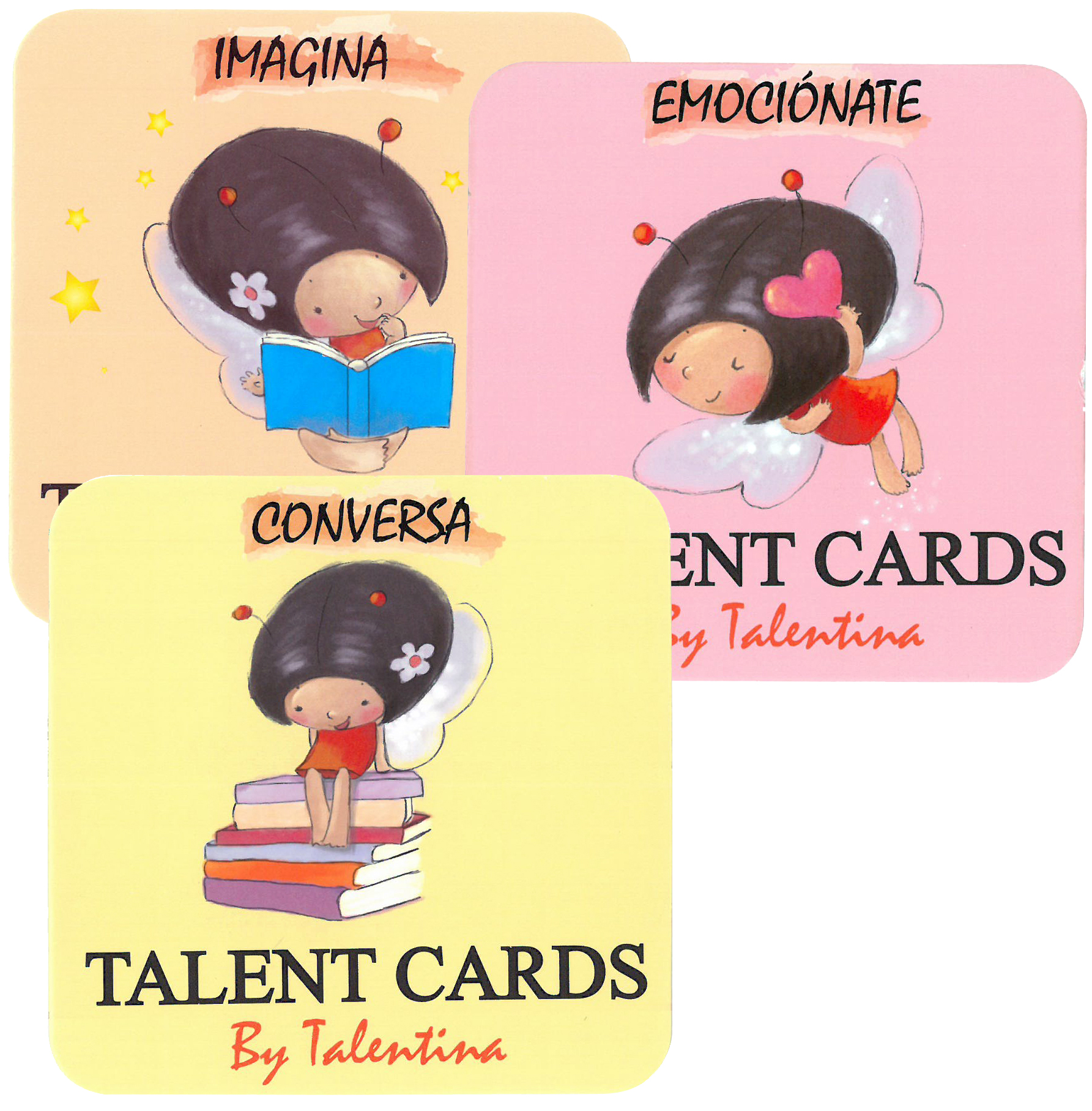 PACK IMAGINA-CONVERSA-EMOCIONATE TARJETAS TALENT CARD