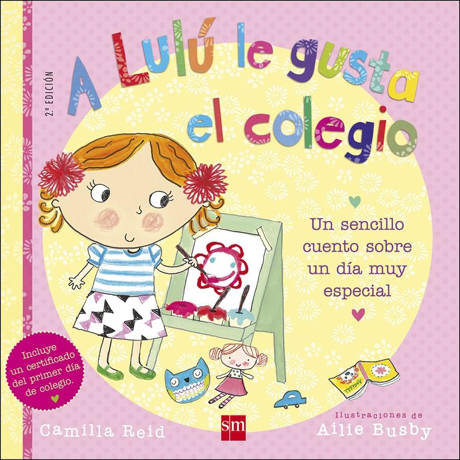 Portada del libro A lulú le gusta el colegio