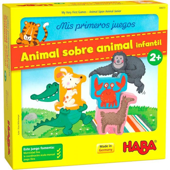 juego animal sobre animal de haba