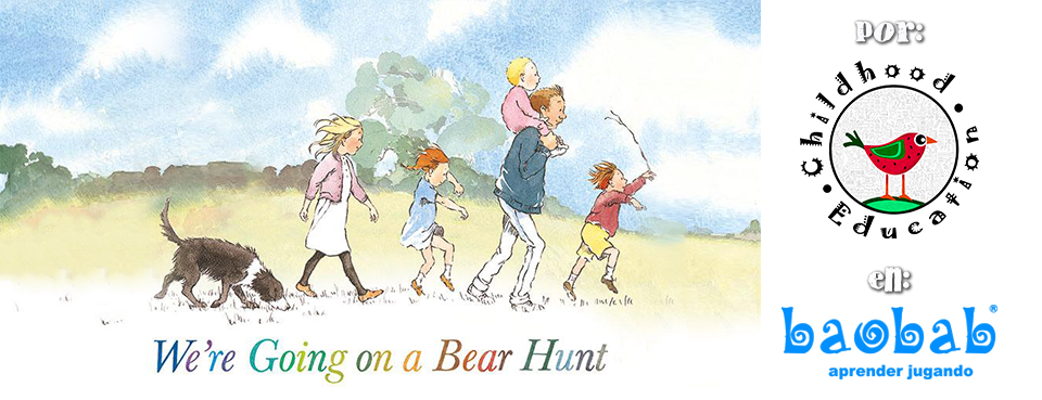 Taller en inglés: We Are Going on a Bear Hunt  ...ver más