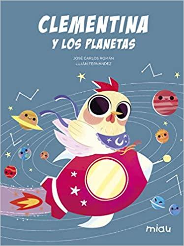 Portada libro clementina y los planetas