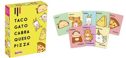 juego Taco Gato Cabra Pizza de Ludilo