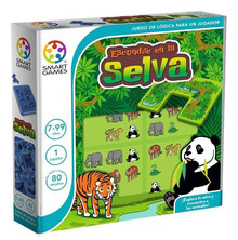 ESCONDITE EN LA SELVA. SMART GAMES
